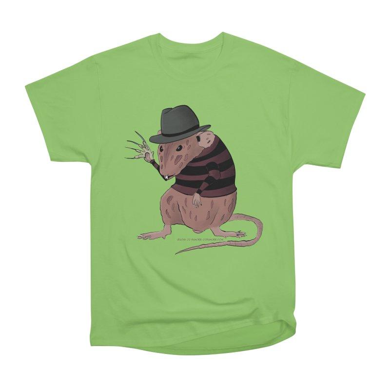 Ratty Kruger Men's Heavyweight T-Shirt by JJ Sandee's Artist Shop