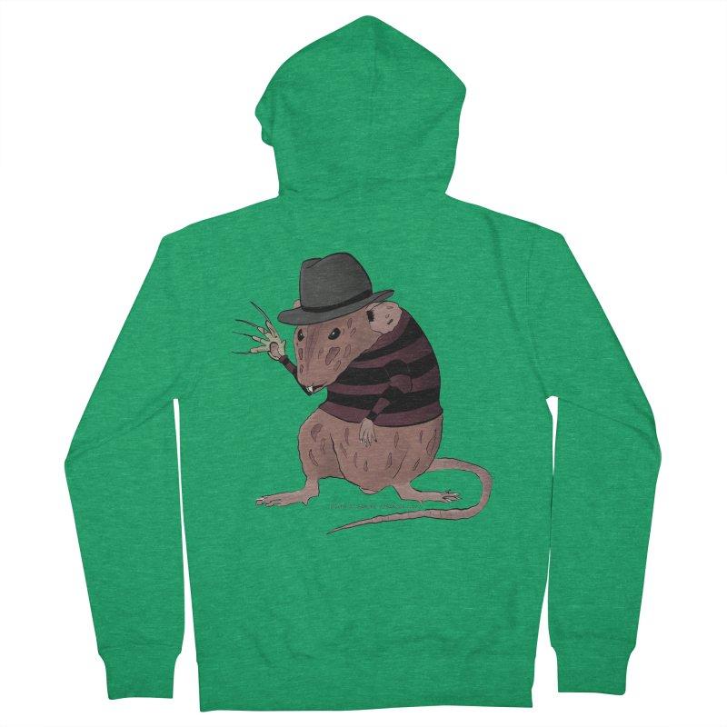 Ratty Kruger Men's Zip-Up Hoody by JJ Sandee's Artist Shop
