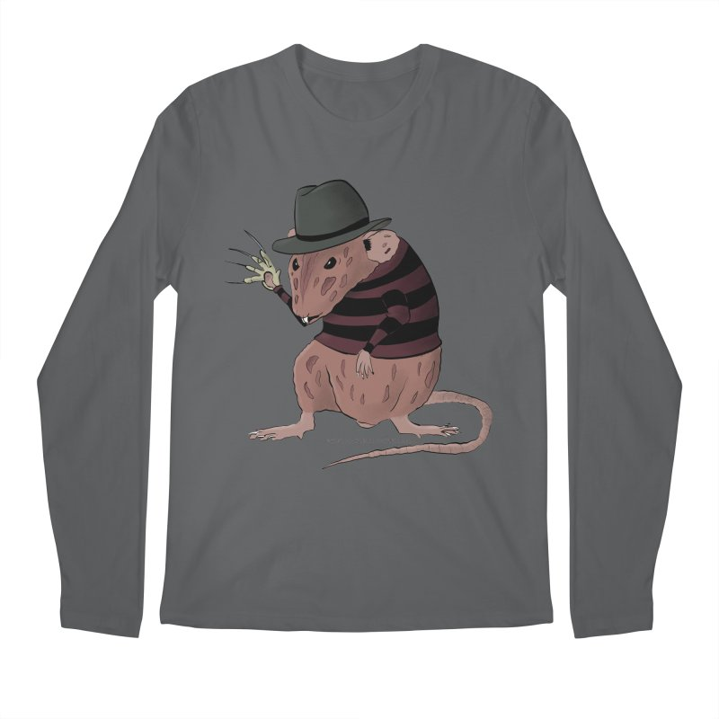 Ratty Kruger Men's Longsleeve T-Shirt by JJ Sandee's Artist Shop