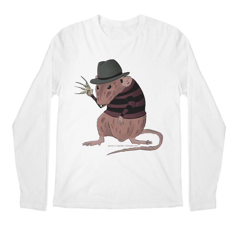 Ratty Kruger Men's Regular Longsleeve T-Shirt by JJ Sandee's Artist Shop