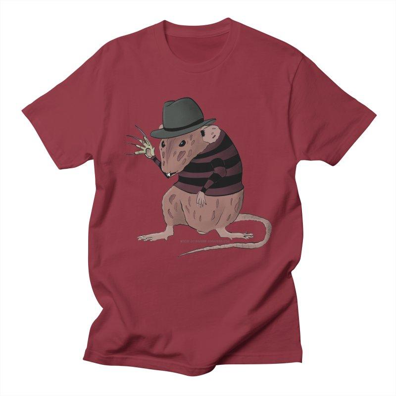 Ratty Kruger Men's Regular T-Shirt by JJ Sandee's Artist Shop