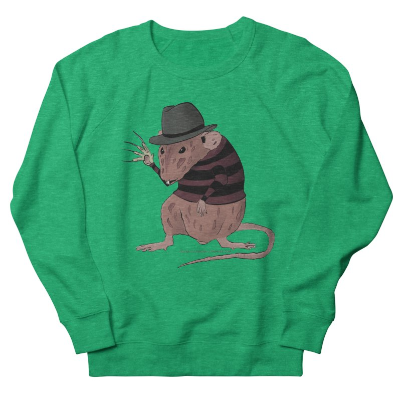 Ratty Kruger Women's French Terry Sweatshirt by JJ Sandee's Artist Shop