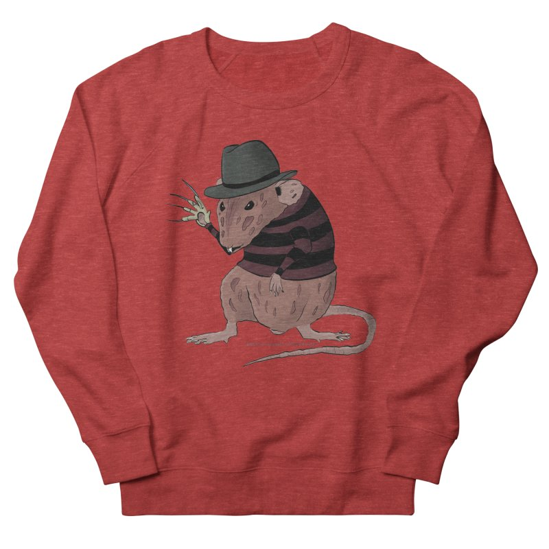 Ratty Kruger Men's French Terry Sweatshirt by JJ Sandee's Artist Shop