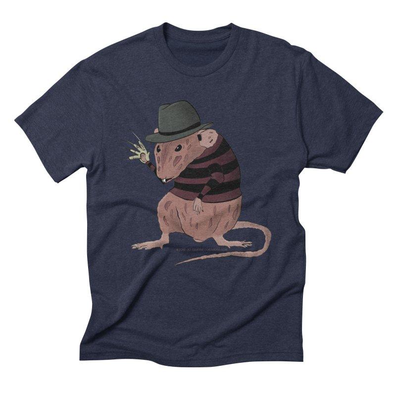 Ratty Kruger Men's Triblend T-Shirt by JJ Sandee's Artist Shop