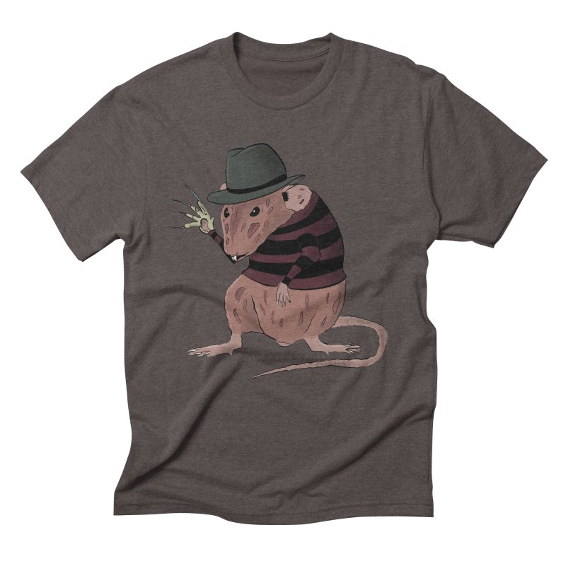 Ratty Kruger Men's Triblend T-Shirt by JJ Sandee's Artist Shop