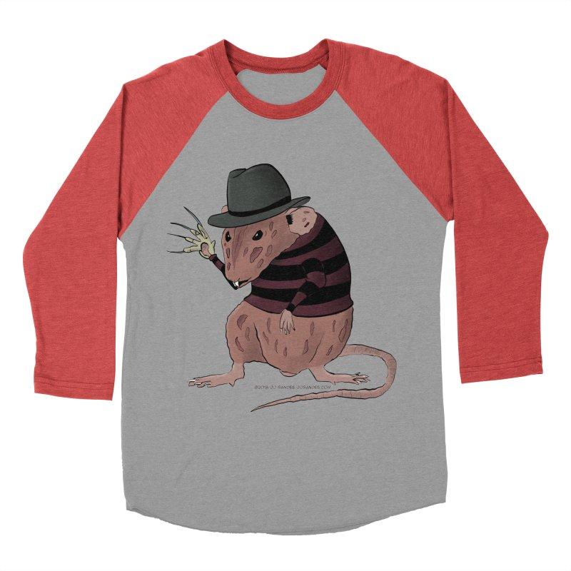 Ratty Kruger Women's Baseball Triblend Longsleeve T-Shirt by JJ Sandee's Artist Shop