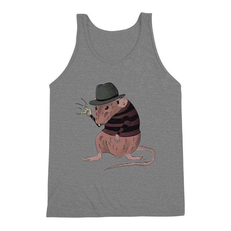 Ratty Kruger Men's Triblend Tank by JJ Sandee's Artist Shop