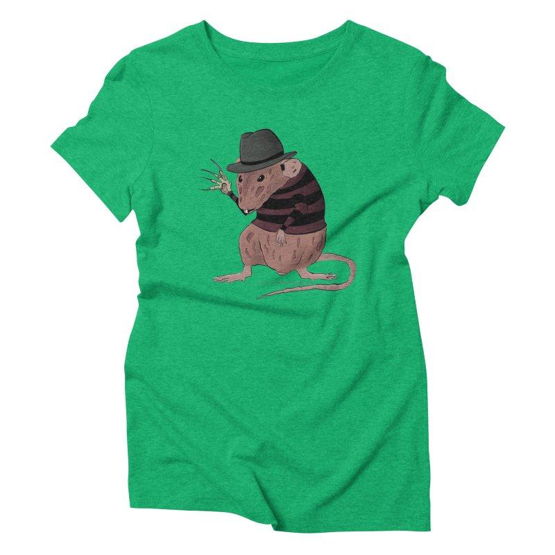 Ratty Kruger Women's Triblend T-Shirt by JJ Sandee's Artist Shop