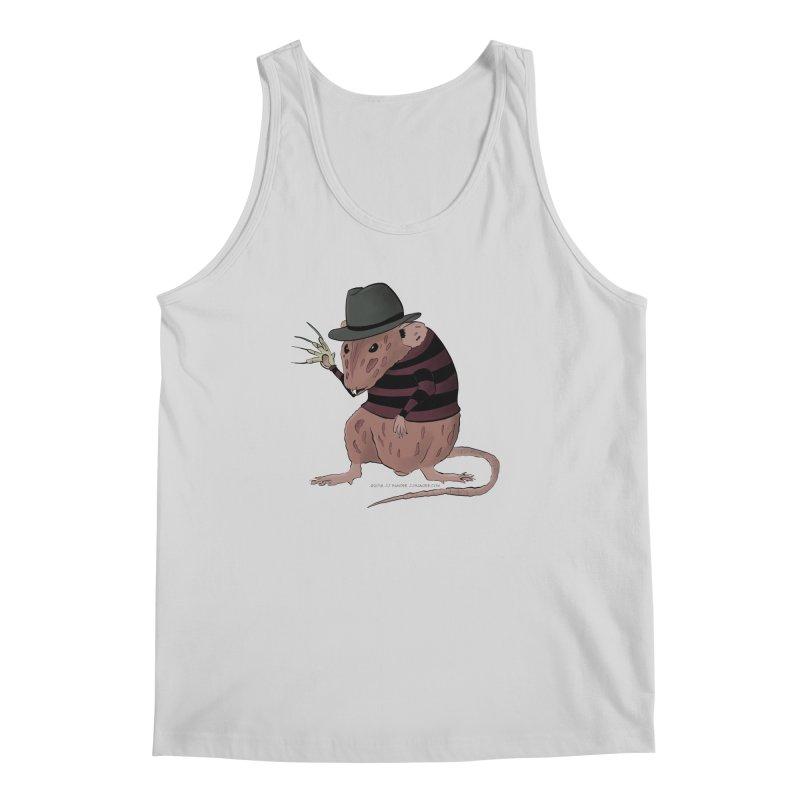 Ratty Kruger Men's Regular Tank by JJ Sandee's Artist Shop