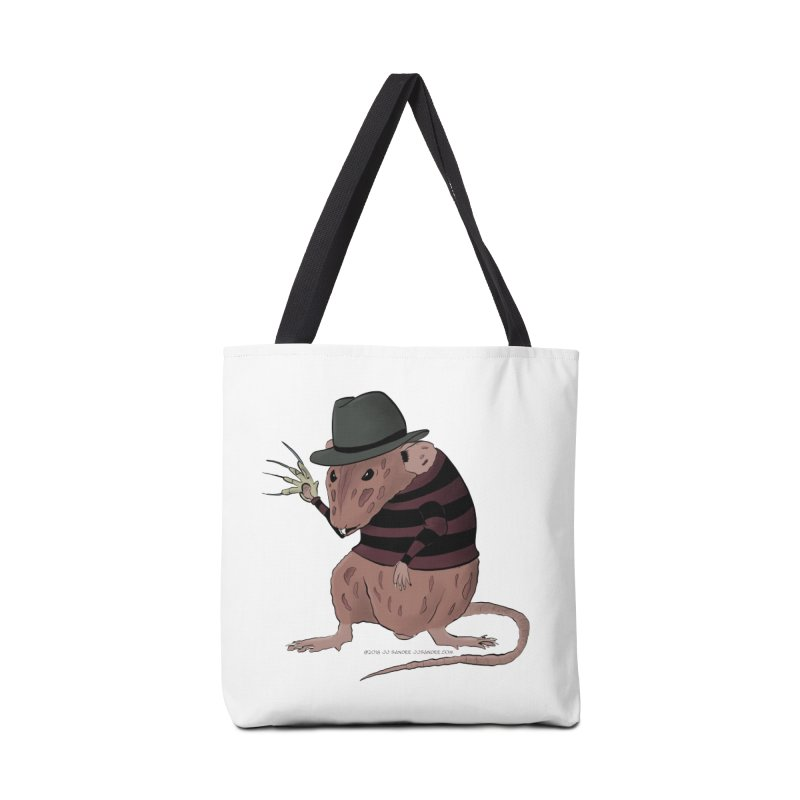 Ratty Kruger Accessories Tote Bag Bag by JJ Sandee's Artist Shop