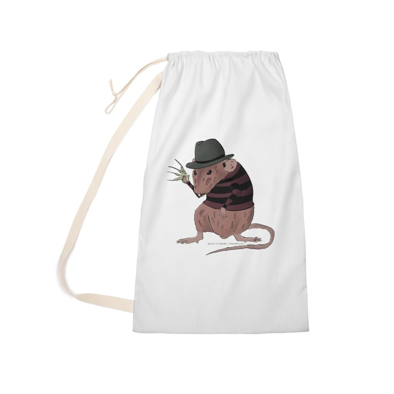 Ratty Kruger Accessories Bag by JJ Sandee's Artist Shop