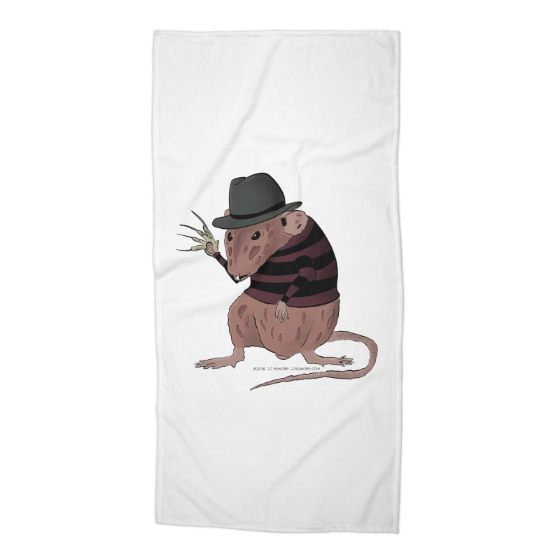 Ratty Kruger Accessories Beach Towel by JJ Sandee's Artist Shop