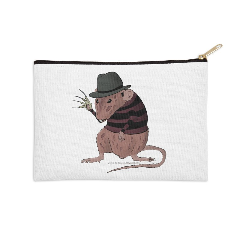 Ratty Kruger Accessories Zip Pouch by JJ Sandee's Artist Shop