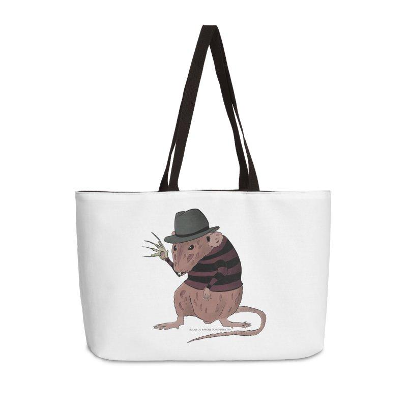 Ratty Kruger Accessories Weekender Bag Bag by JJ Sandee's Artist Shop