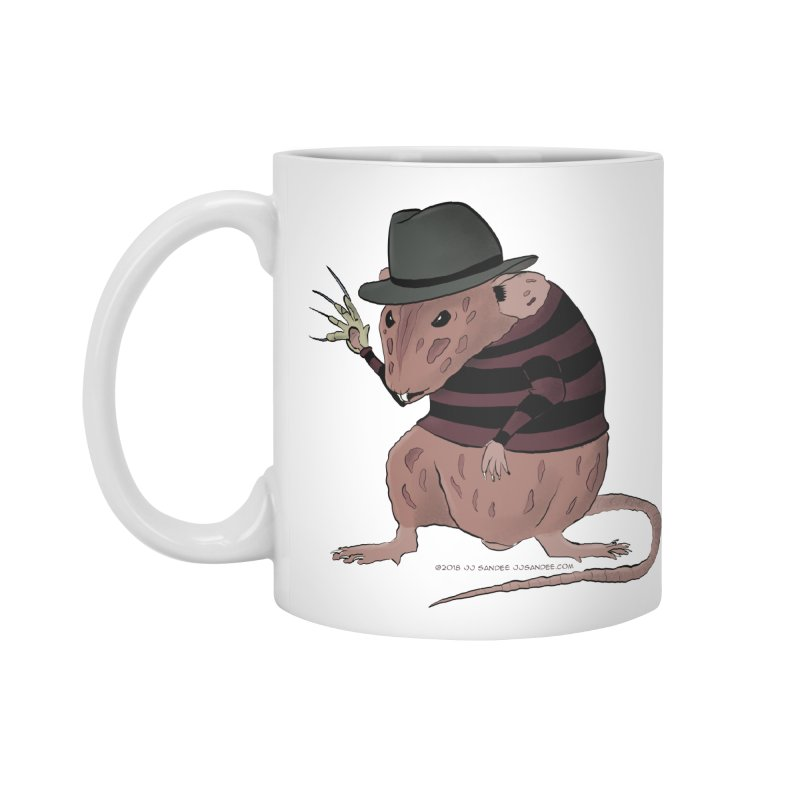 Ratty Kruger Accessories Mug by JJ Sandee's Artist Shop