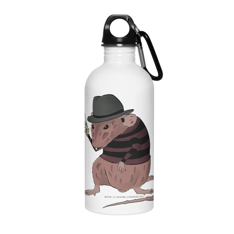 Ratty Kruger Accessories Water Bottle by JJ Sandee's Artist Shop