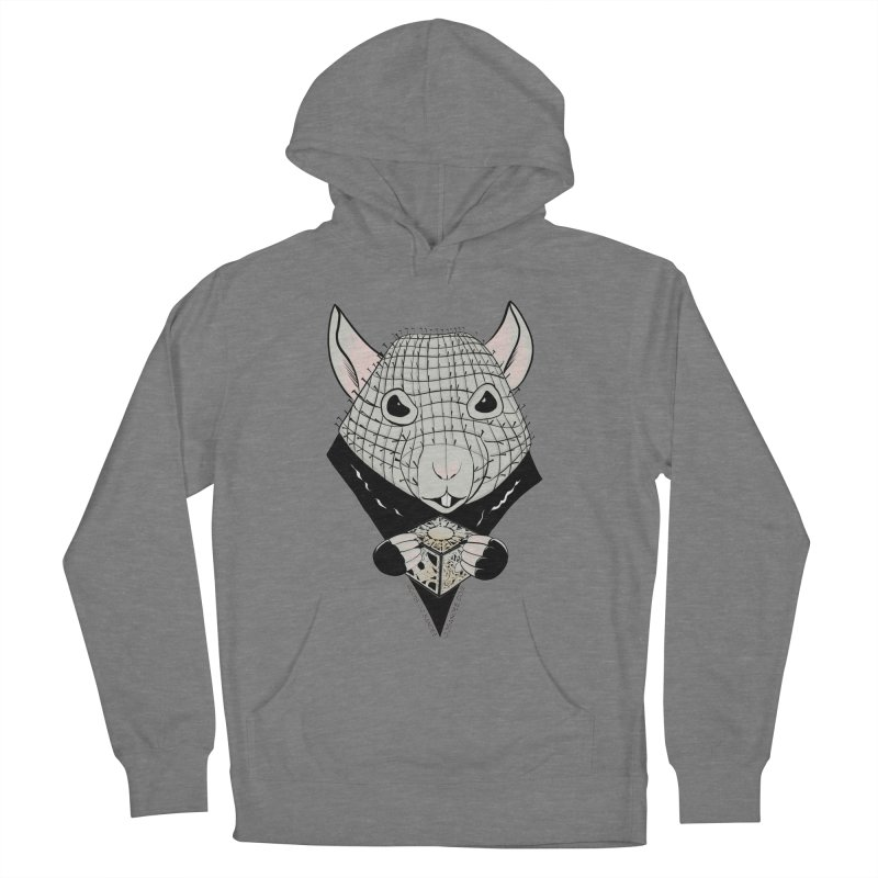 PinRat Men's French Terry Pullover Hoody by JJ Sandee's Artist Shop