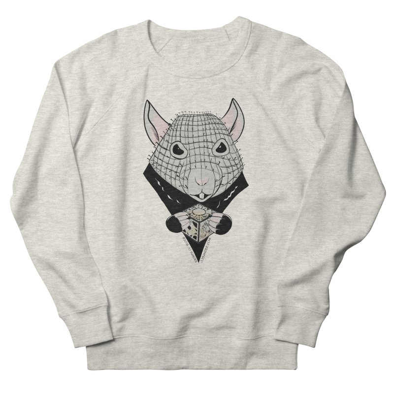 PinRat Men's French Terry Sweatshirt by JJ Sandee's Artist Shop