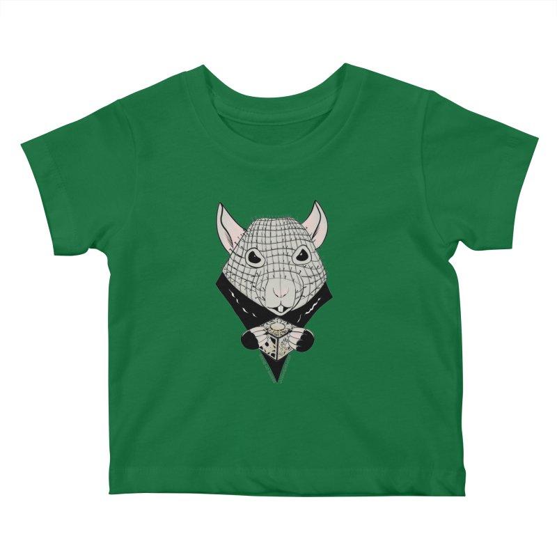 PinRat Kids Baby T-Shirt by JJ Sandee's Artist Shop
