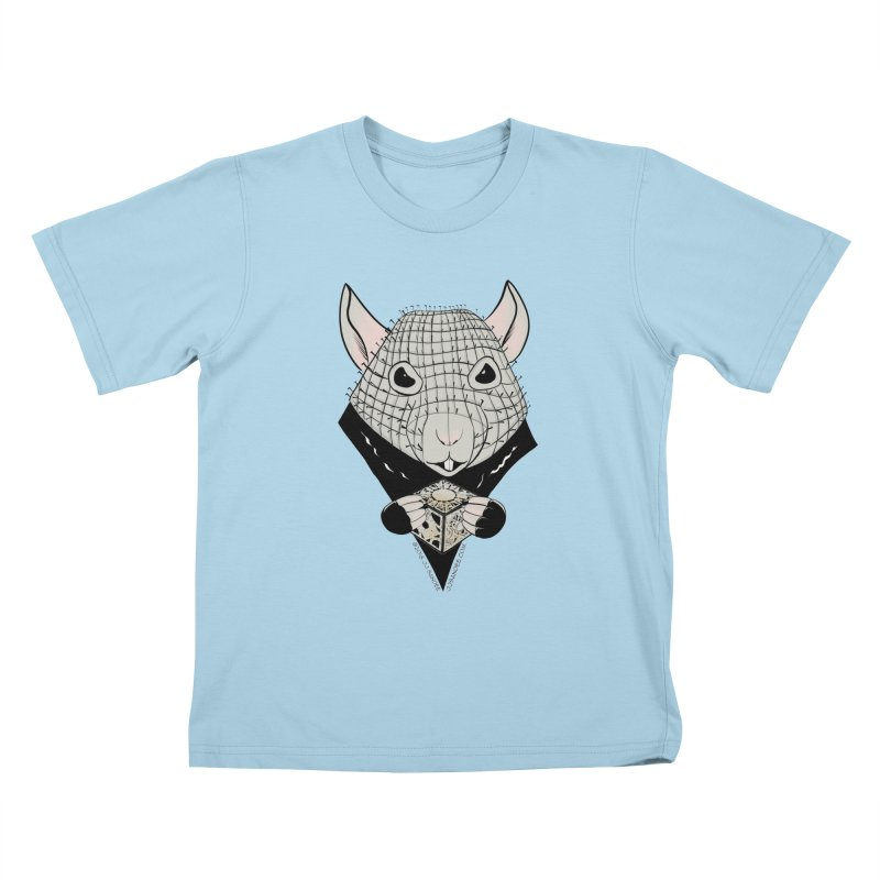 PinRat Kids T-Shirt by JJ Sandee's Artist Shop