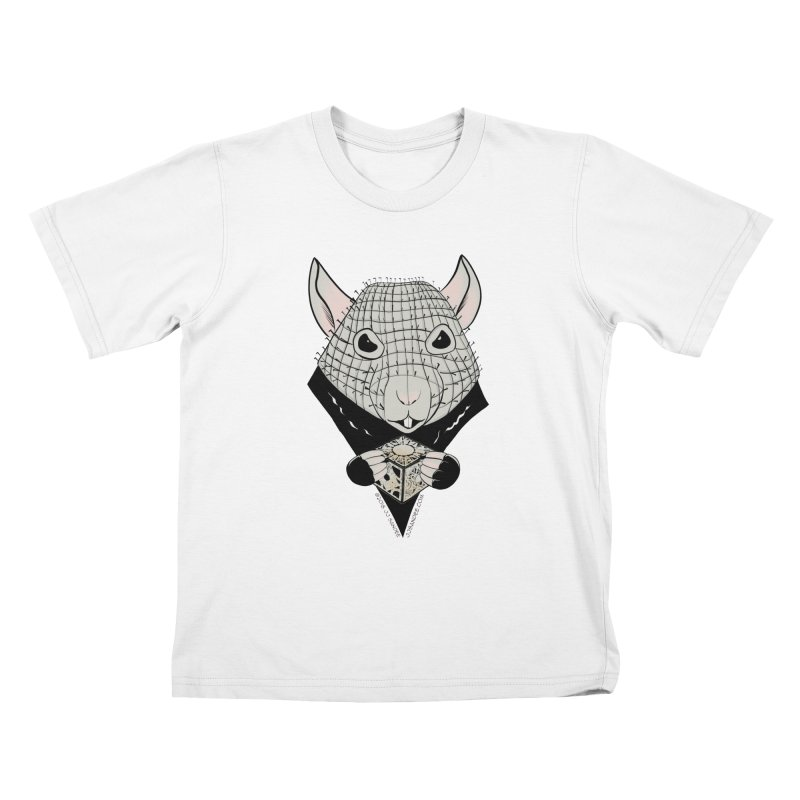 PinRat Kids T-Shirt by JJ Sandee's Artist Shop