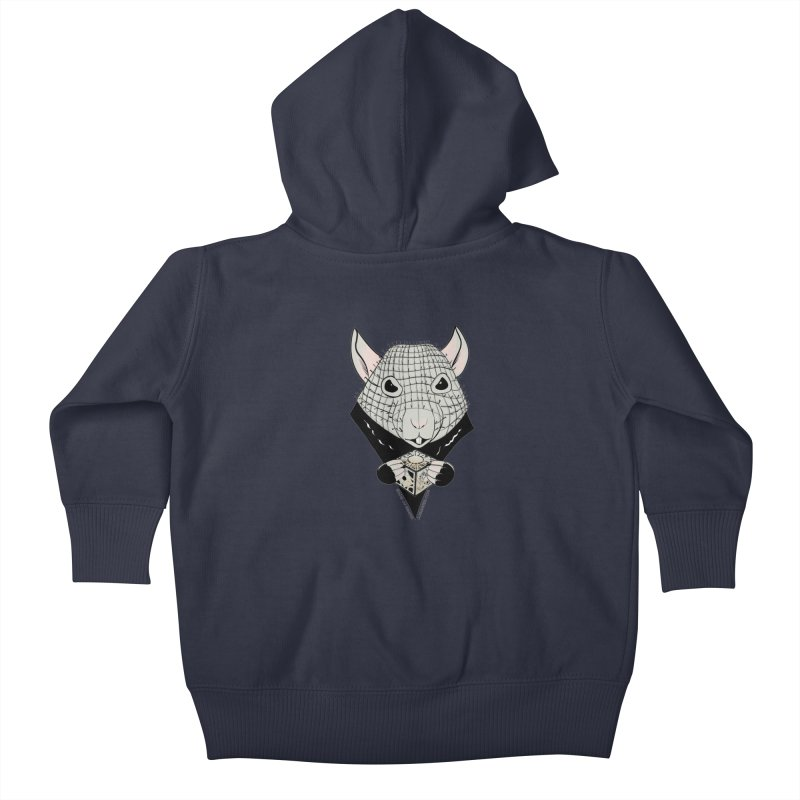 PinRat Kids Baby Zip-Up Hoody by JJ Sandee's Artist Shop