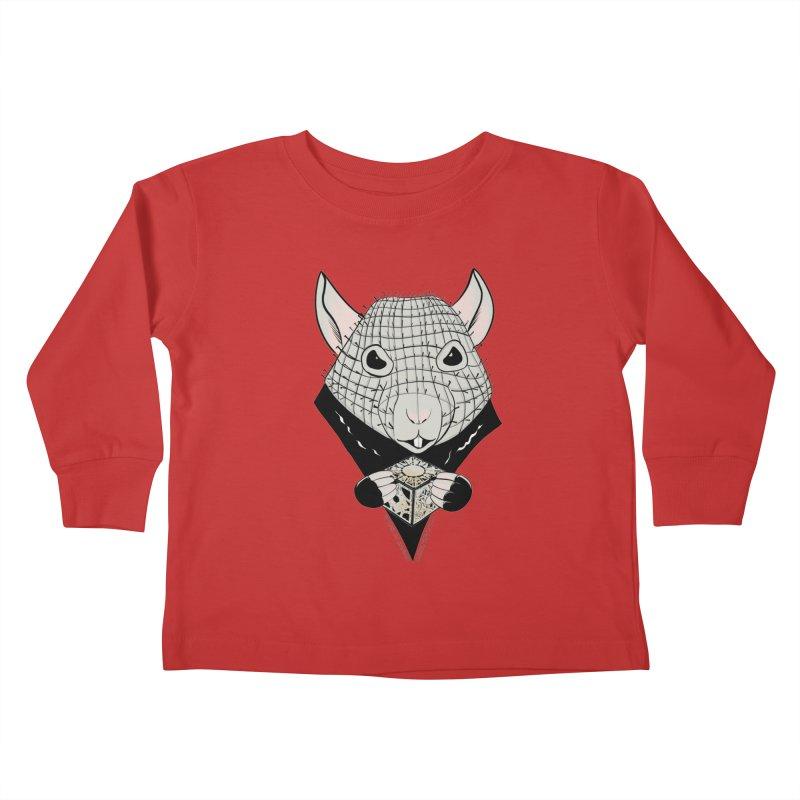 PinRat Kids Toddler Longsleeve T-Shirt by JJ Sandee's Artist Shop