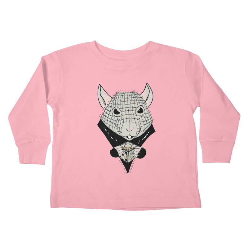 PinRat Kids Toddler Longsleeve T-Shirt by JJ Sandee's Artist Shop