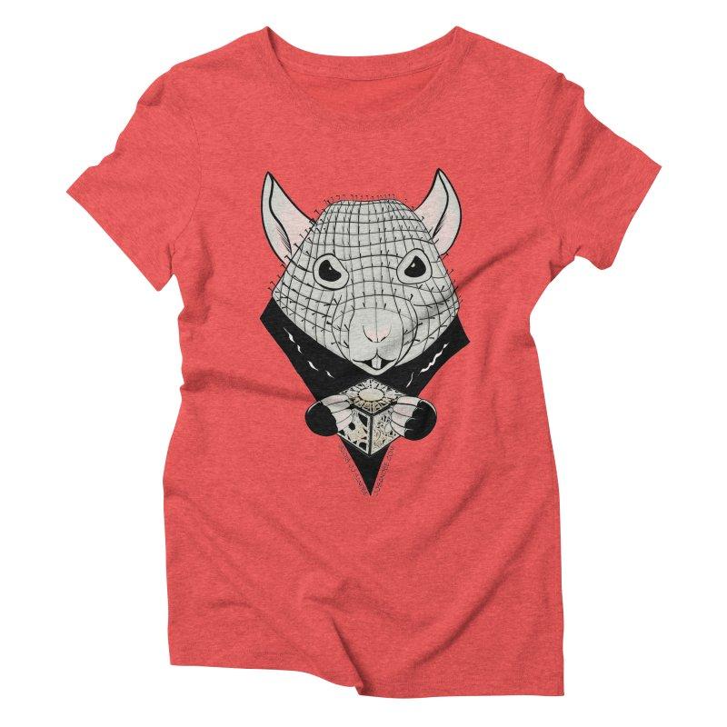PinRat Women's Triblend T-Shirt by JJ Sandee's Artist Shop