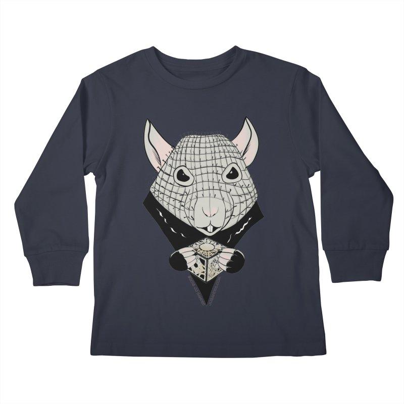 PinRat Kids Longsleeve T-Shirt by JJ Sandee's Artist Shop