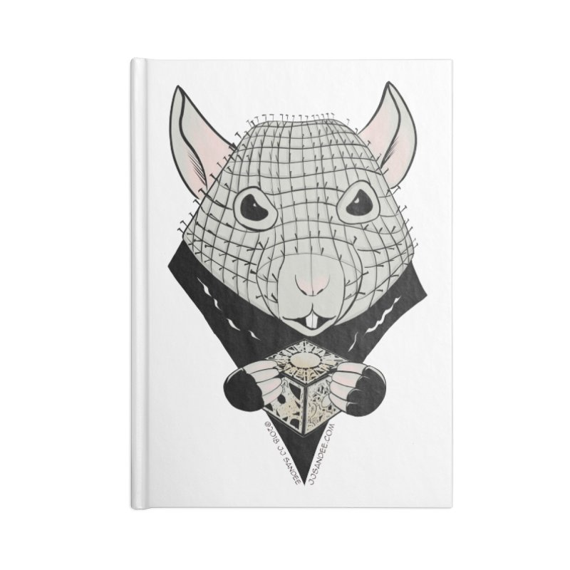 PinRat Accessories Blank Journal Notebook by JJ Sandee's Artist Shop