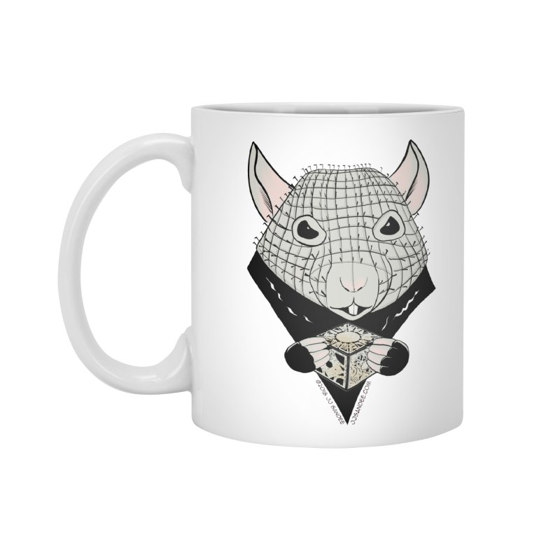 PinRat Accessories Standard Mug by JJ Sandee's Artist Shop