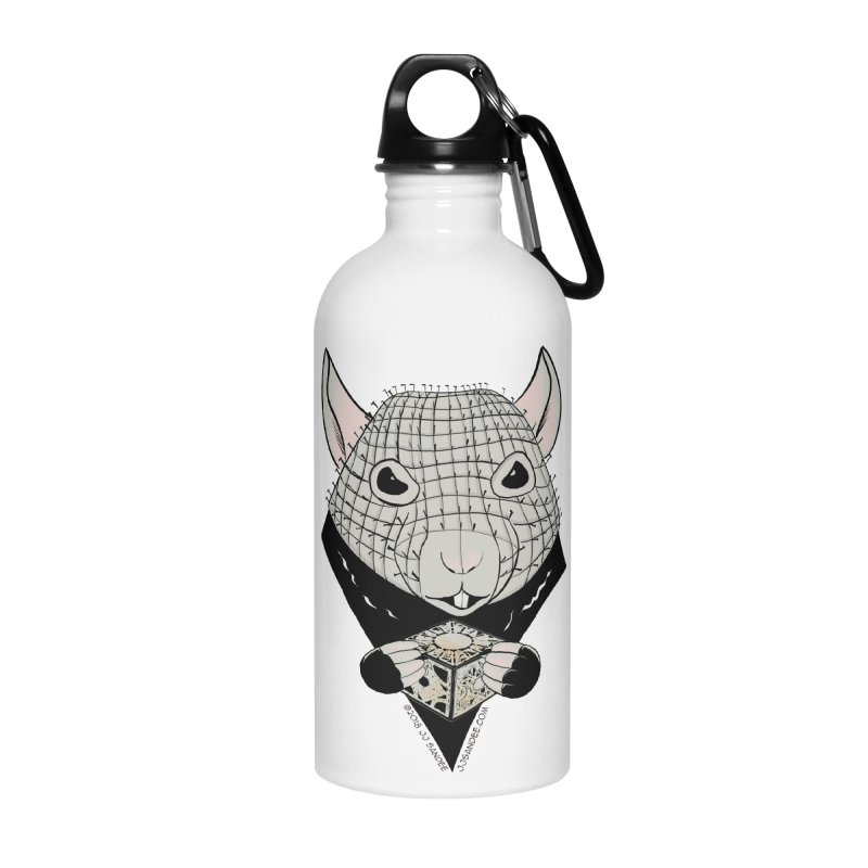 PinRat Accessories Water Bottle by JJ Sandee's Artist Shop