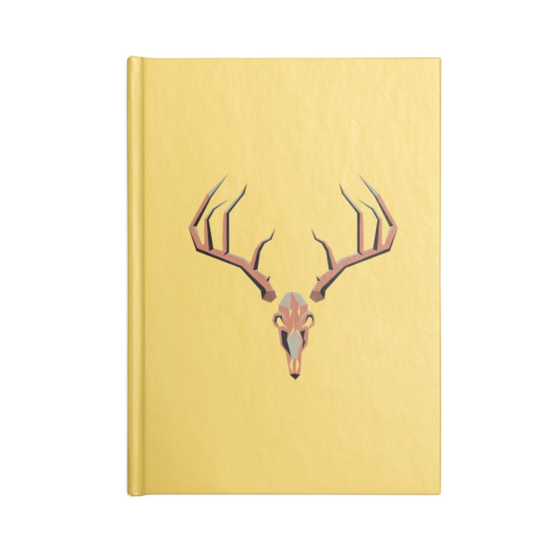 Deer Hunter Accessories Lined Journal Notebook by jkempain's Artist Shop