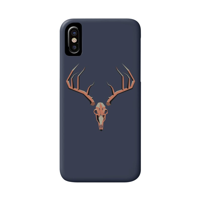 Deer Hunter in iPhone X / XS Phone Case Slim by jkempain's Artist Shop
