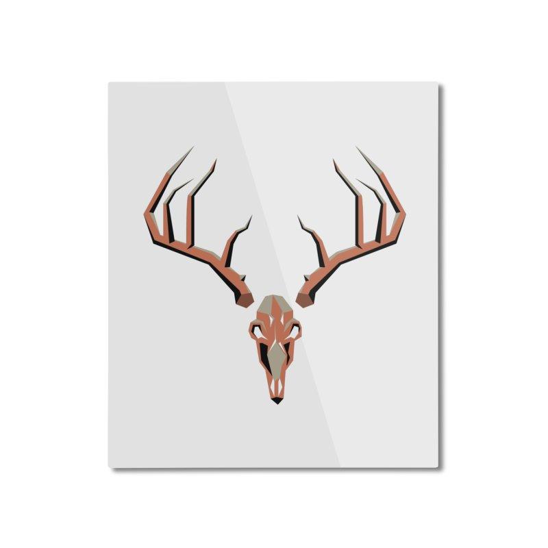 Deer Hunter Home Mounted Aluminum Print by jkempain's Artist Shop