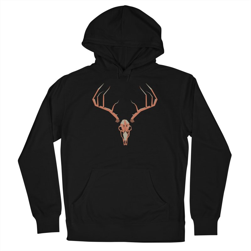 Deer Hunter Men's French Terry Pullover Hoody by jkempain's Artist Shop