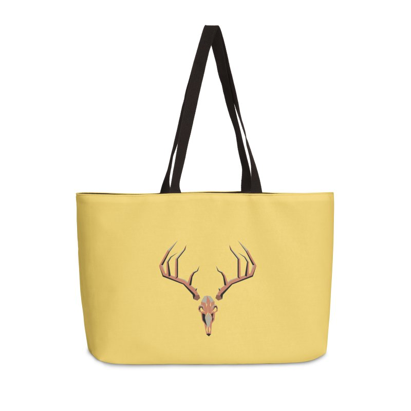 Deer Hunter Accessories Weekender Bag Bag by jkempain's Artist Shop