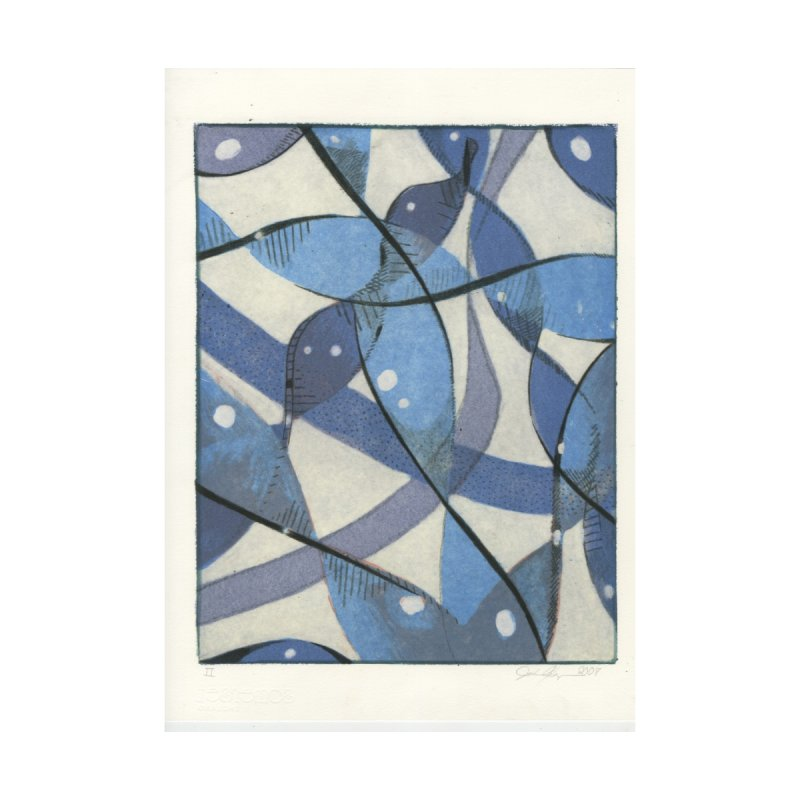 Blue Pattern by jkempain's Artist Shop