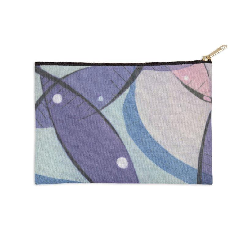 Purple & Pink Accessories Zip Pouch by jkempain's Artist Shop