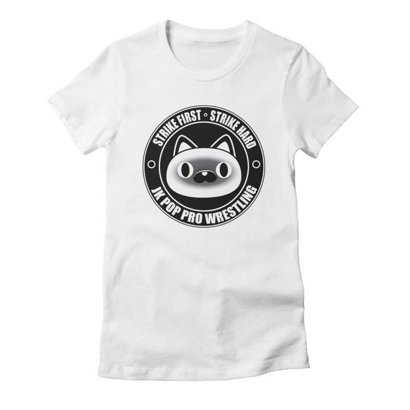 Japan Logo Women's Fitted T-Shirt by jkpopprowrestling's Artist Shop