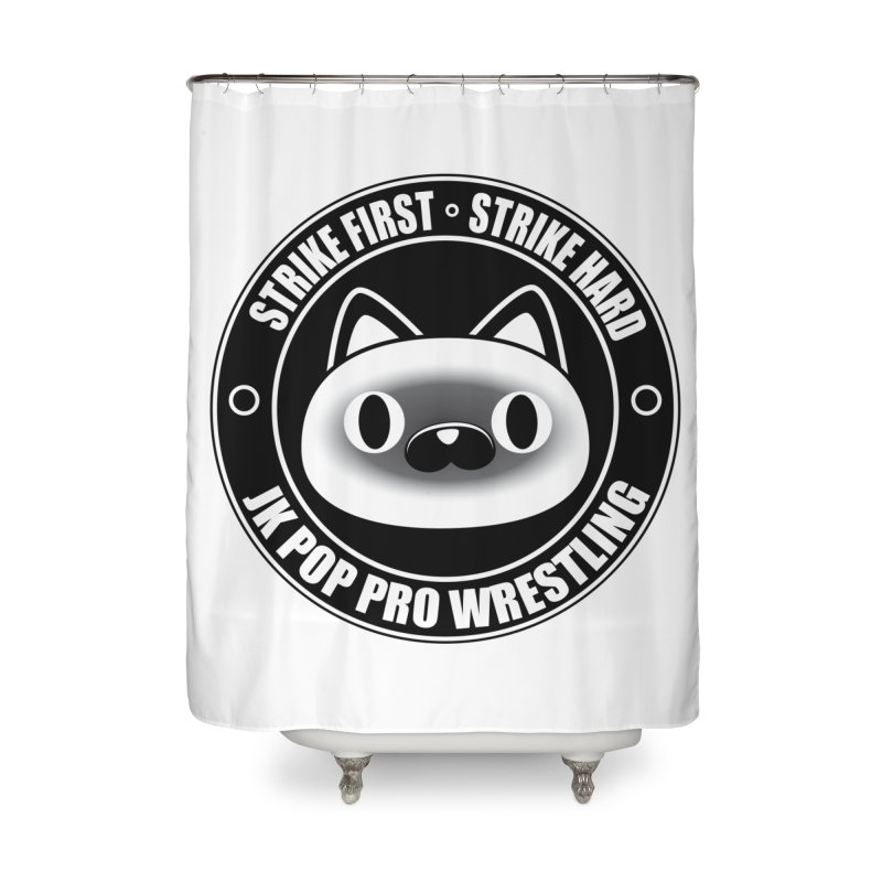 Japan Logo Home Shower Curtain by jkpopprowrestling's Artist Shop