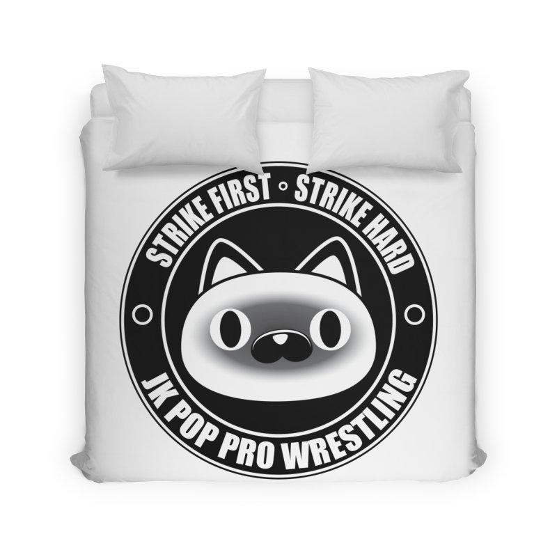 Japan Logo Home Duvet by jkpopprowrestling's Artist Shop