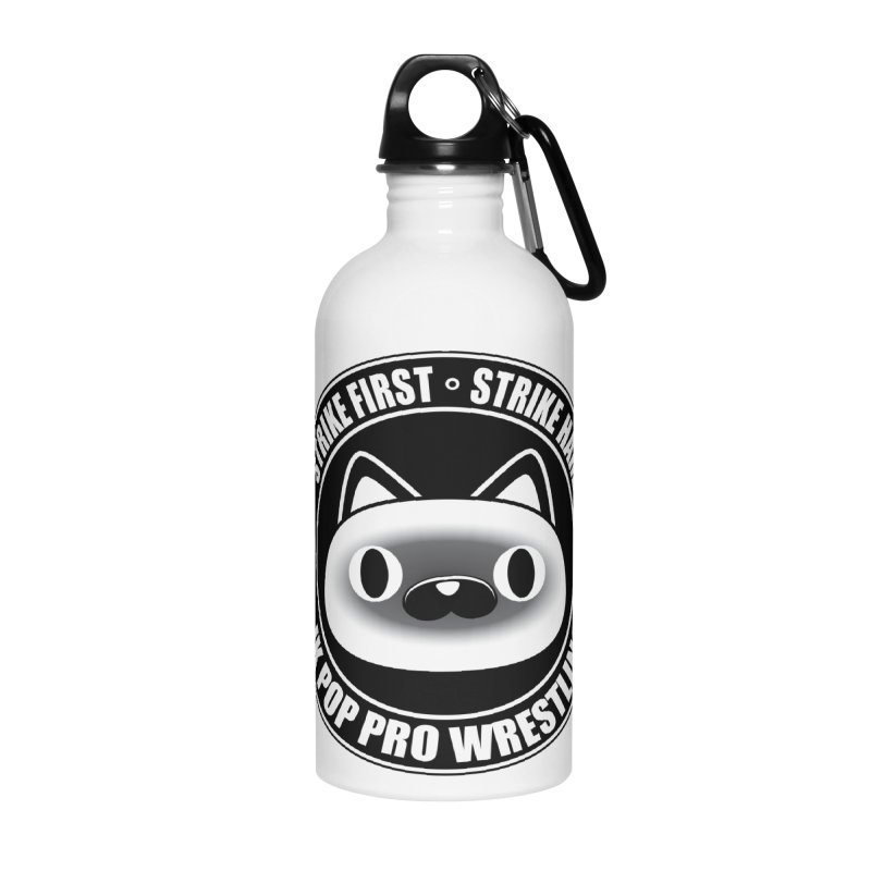 Japan Logo Accessories Water Bottle by jkpopprowrestling's Artist Shop