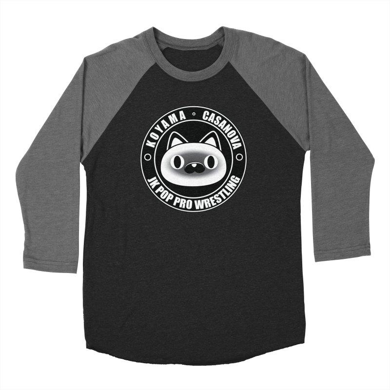 Japan Names Logo Women's Baseball Triblend Longsleeve T-Shirt by jkpopprowrestling's Artist Shop