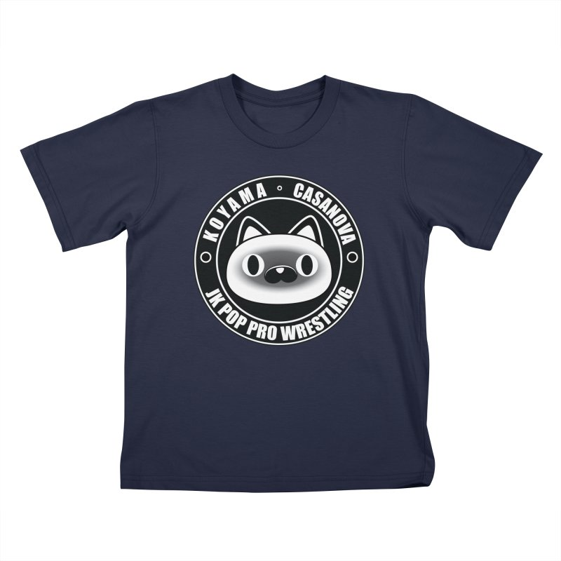 Japan Names Logo Kids T-Shirt by jkpopprowrestling's Artist Shop