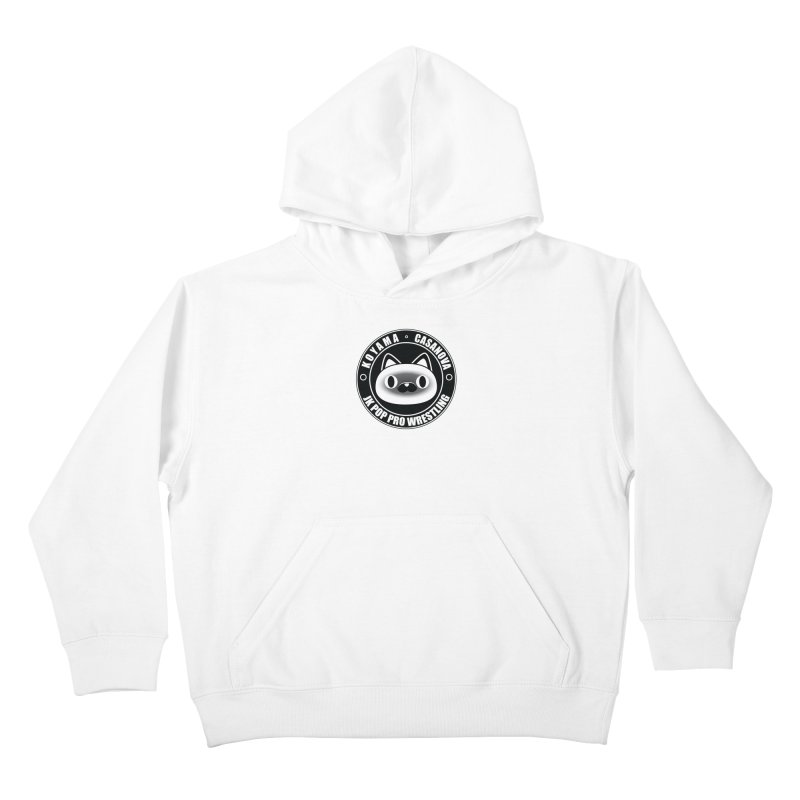 Japan Names Logo Kids Pullover Hoody by jkpopprowrestling's Artist Shop