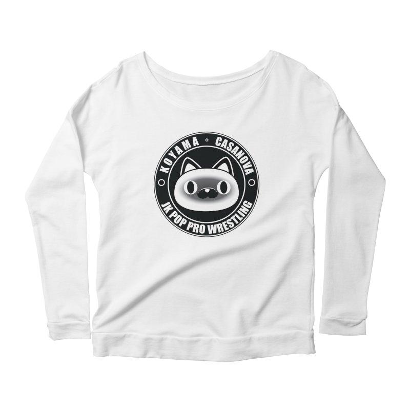 Japan Names Logo Women's Scoop Neck Longsleeve T-Shirt by jkpopprowrestling's Artist Shop