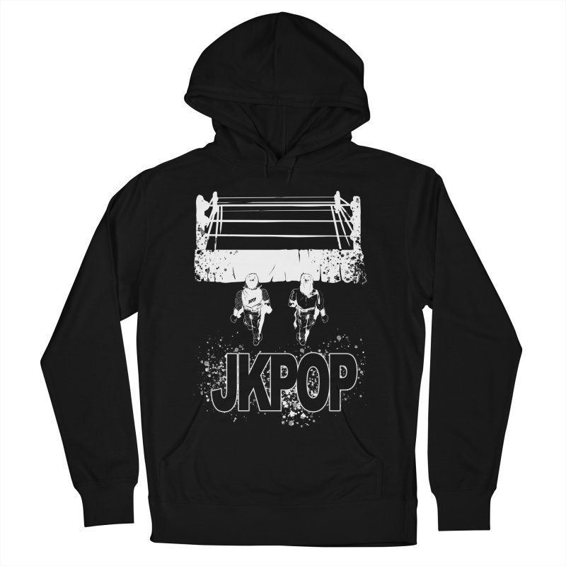 Neo Tokyo Men's French Terry Pullover Hoody by jkpopprowrestling's Artist Shop