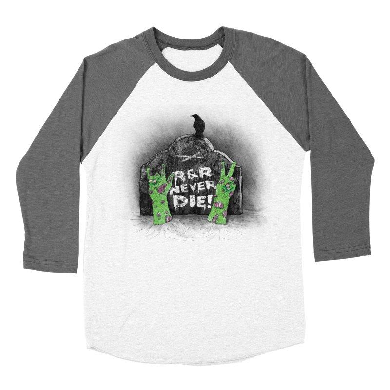 R&R never dies Women's Longsleeve T-Shirt by magicmagic